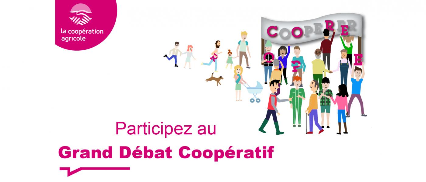 Grand débat coopératif : les acteurs des coops ont la parole