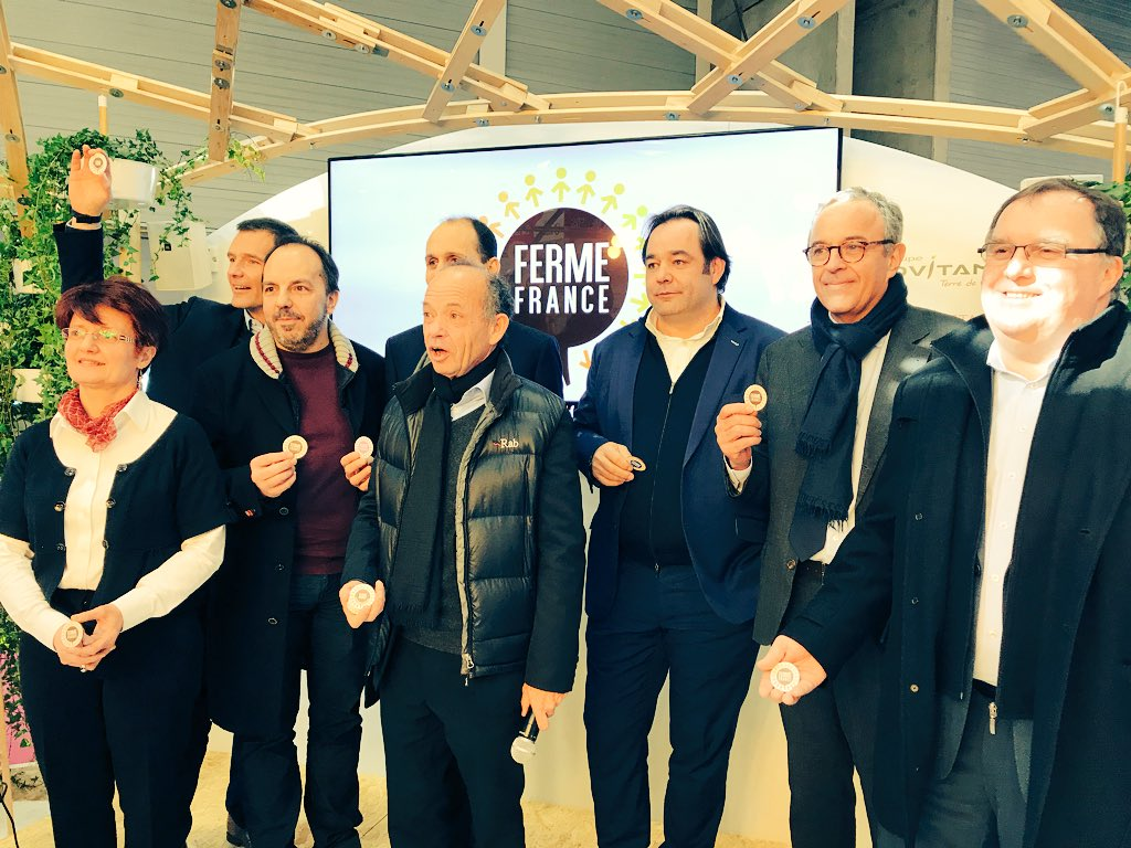 Ferme France officiellement lancée au SIA 2018