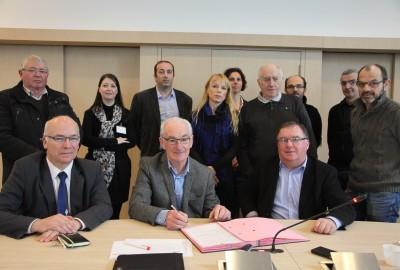 Terrena a signé le 26 janvier 2015 le renouvellement de la convention de partenariat pour l'insertion en milieu professionnel avec l'association ELI.