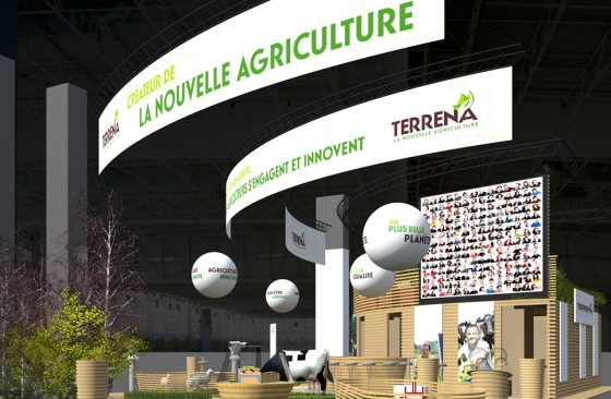 Terrena au Salon de l'Agriculture 2016