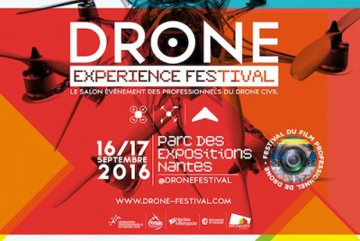 Terrena au salon du Drone le 17 septembre 2016