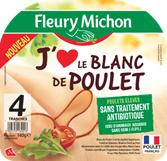 Fleury Michon et Terrena lancent « J'Aime le poulet » une nouvelle gamme sans OGM* ni antibiotiques